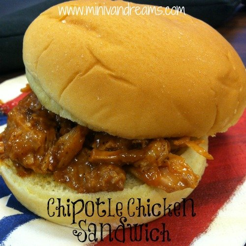 Chipotle Chicken Sandwich   Mini Van Dreams #easyrecipes #recipes #recipesforchicken