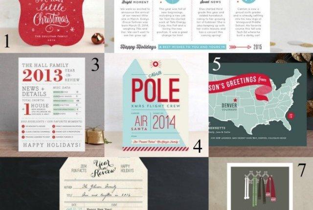 Unique Christmas Card Ideas | Mini Van Dreams