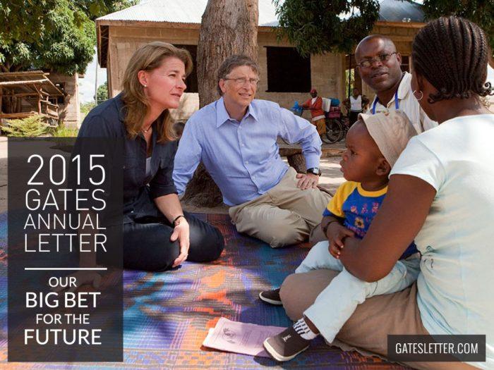 Betting on the Gates - 2015 Gates Letter | Mini Van Dreams