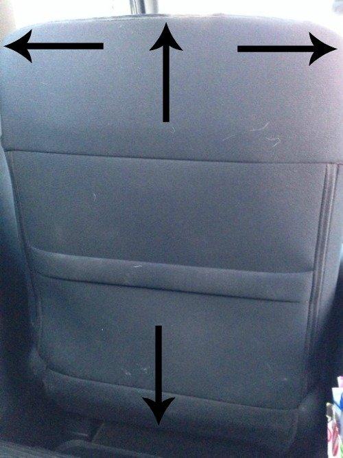 Seat Mat Tutorial | Mini Van Dreams
