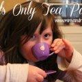 Girl's Only Tea Party Mini Van Dreams