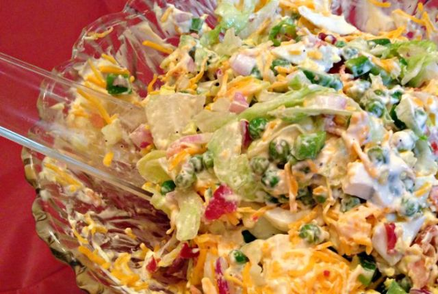 Layered Salad   Mini Van Dreams