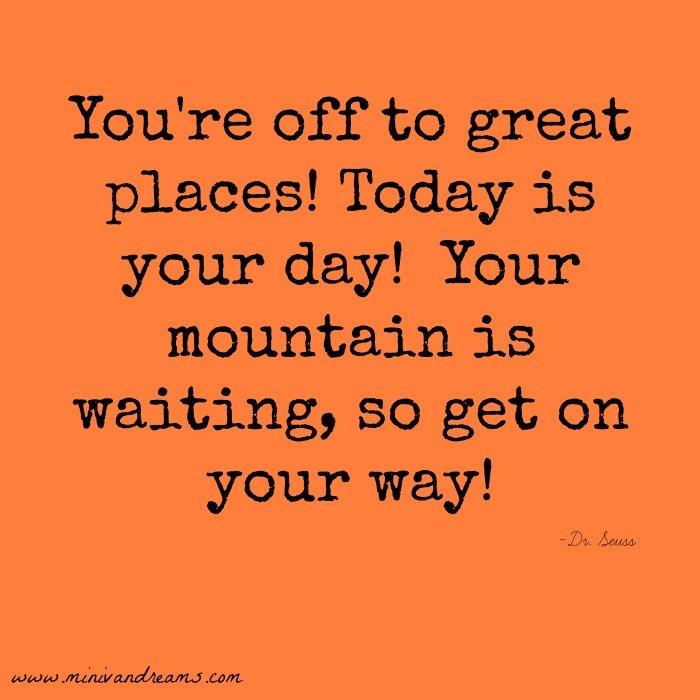 Your Mountain Is Waiting Social Media Badge | Mini Van Dreams