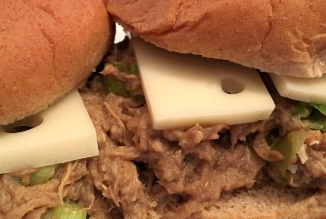Shredded Teriyaki Chicken Sandwiches | Mini Van Dreams