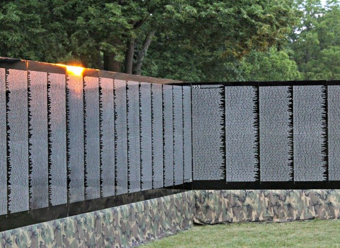 The Traveling Vietnam Memorial Wall | Mini Van Dreams