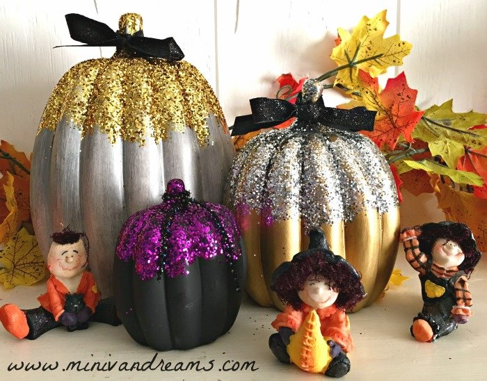 Elegant Pumpkin Decorations | Mini Van Dreams