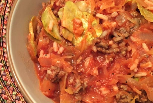 Cabbage Roll Casserole | Mini Van Dreams