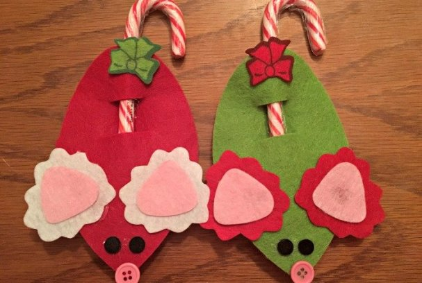 Easy Homemade Ornaments with Oriental Trading | Mini Van Dreams