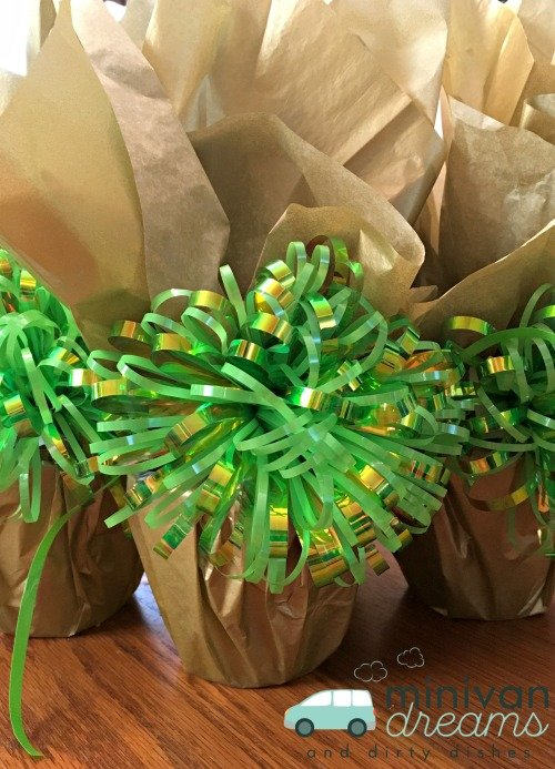 St. Patrick's Day Pot of Gold Craft + Free Bonus GIft Tag | Mini Van Dreams