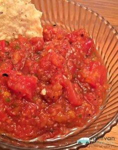 Vidalia Onion and Peach Salsa | Mini Van Dreams