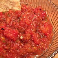 Vidalia Onion and Peach Salsa