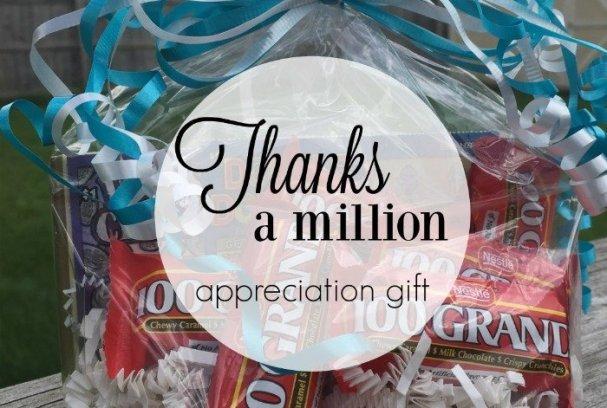 Thanks a Million Appreciation Gift   Mini Van Dreams