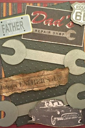 Father's Day Card for Car Lovers | Mini Van Dreams