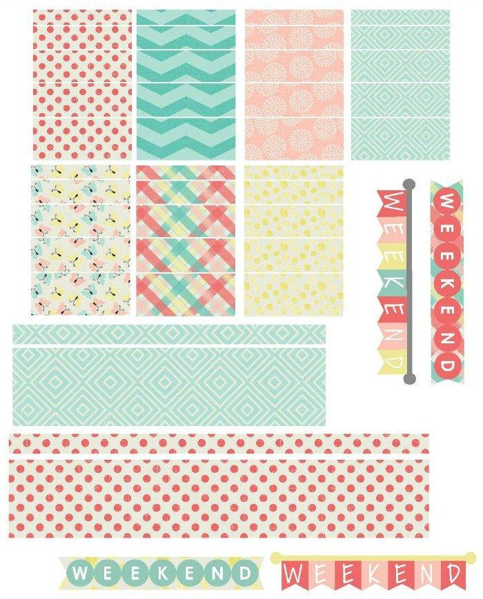 Free Printable Planner Stickers | Mini Van Dreams