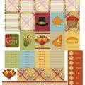 Free Printable Planner Stickers - Thankful Everyday   Mini Van Dreams