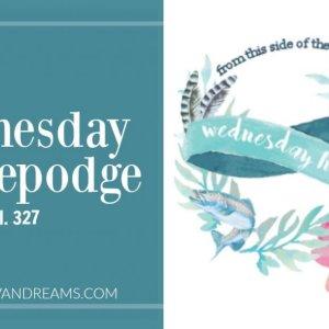 Wednesday Hodgepodge Vol, 327   Mini Van Dreams