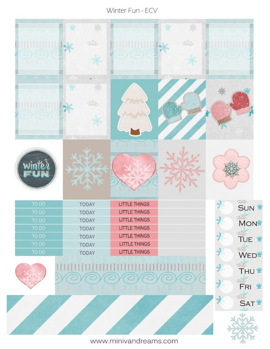It is a graphic of Printable Planner Stickers within work