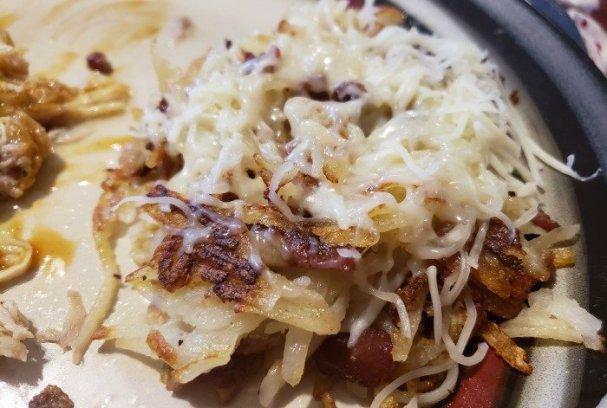Swiss Cheese Rosti Potatoes   Mini Van Dreams