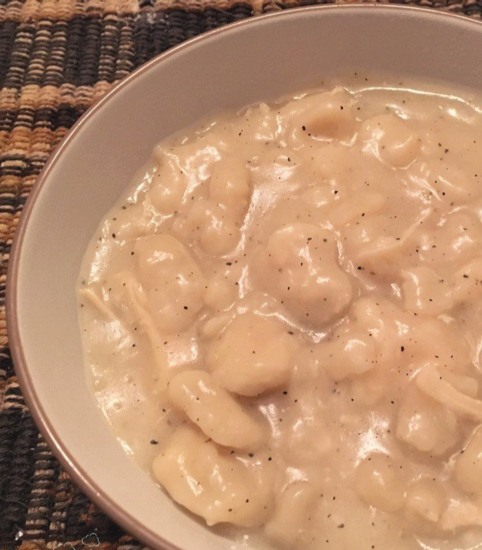 Easy Chicken and Dumplings | Mini Van Dreams