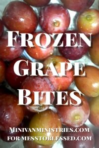 Frozen Grape Bites