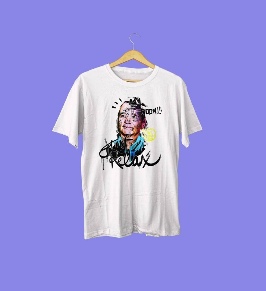 minizuka_camiseta_billmurray_blanca