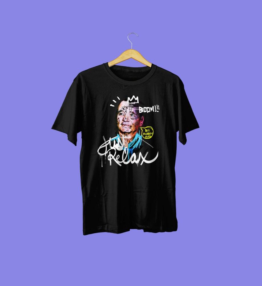 minizuka_camiseta_billmurray_negra