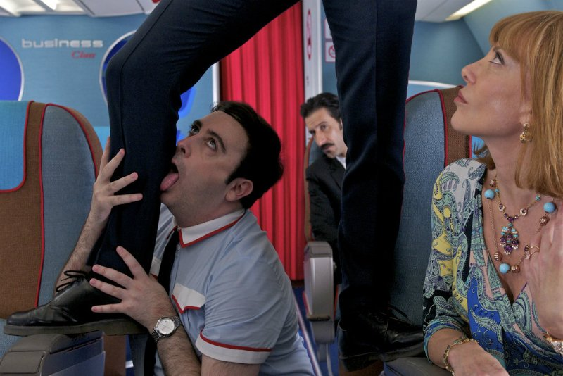 how to survive a long-haul flight @minkaguides © Sony Pictures Classics I'm So Excited by Pedro Almodóvar 4