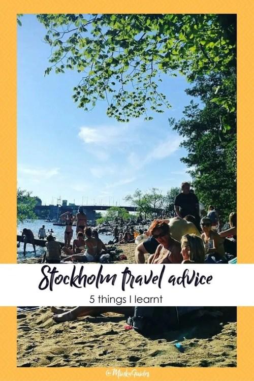 Stockholm travel advice @minkaguides