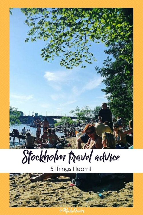 Stockholm travel advice @minkaguides