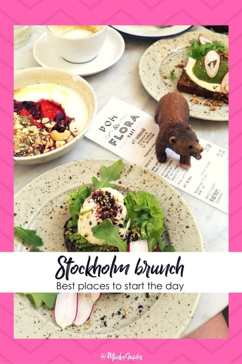 Best brunch in Stockholm Pinterest