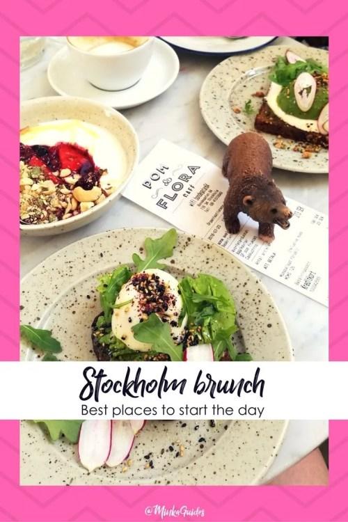 Best brunch in Stockholm Pinterest