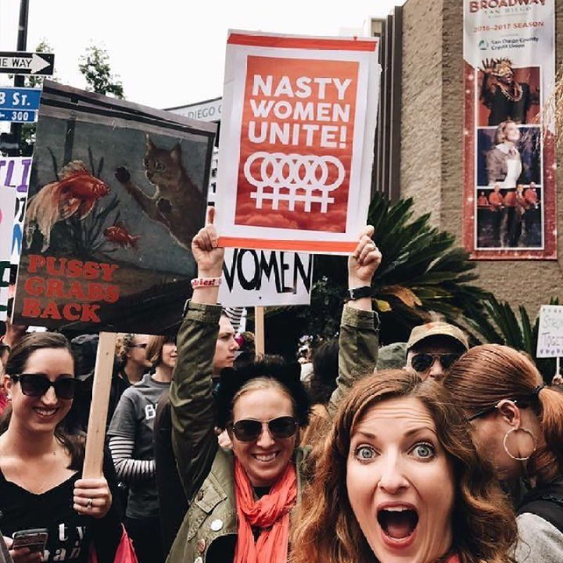 feminist exhibitions @minkaguides nasty women