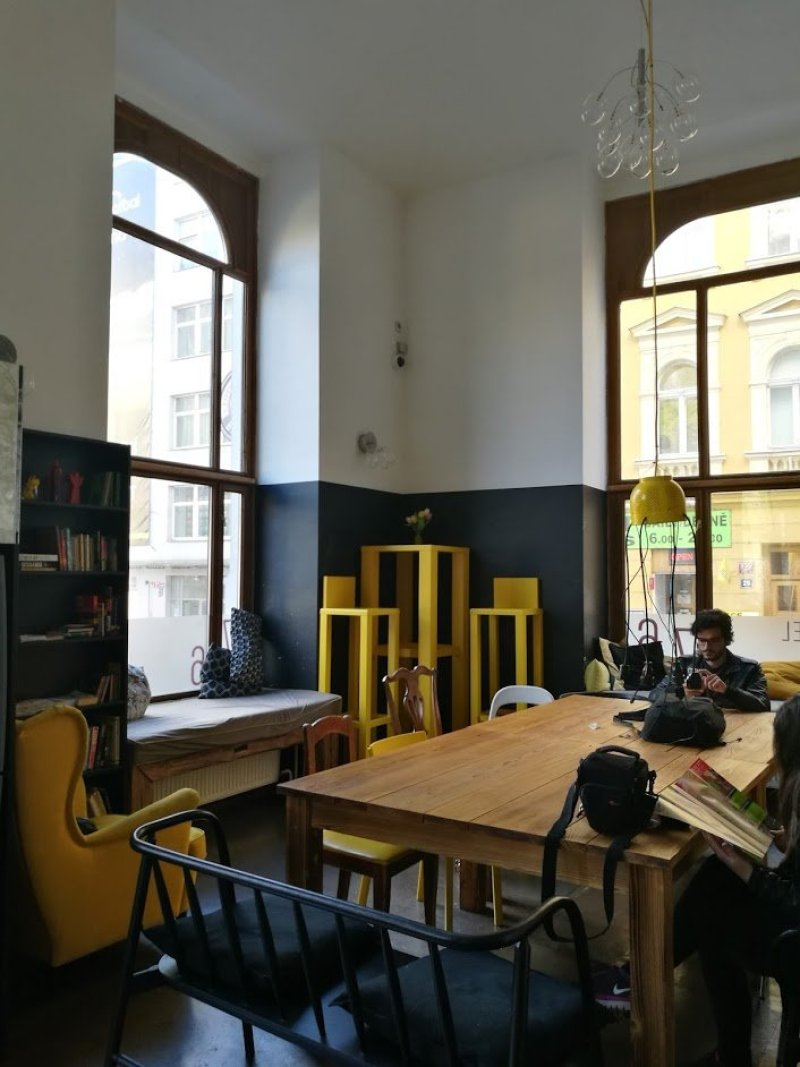 Czech Inn Prague review @minkaguides lobby