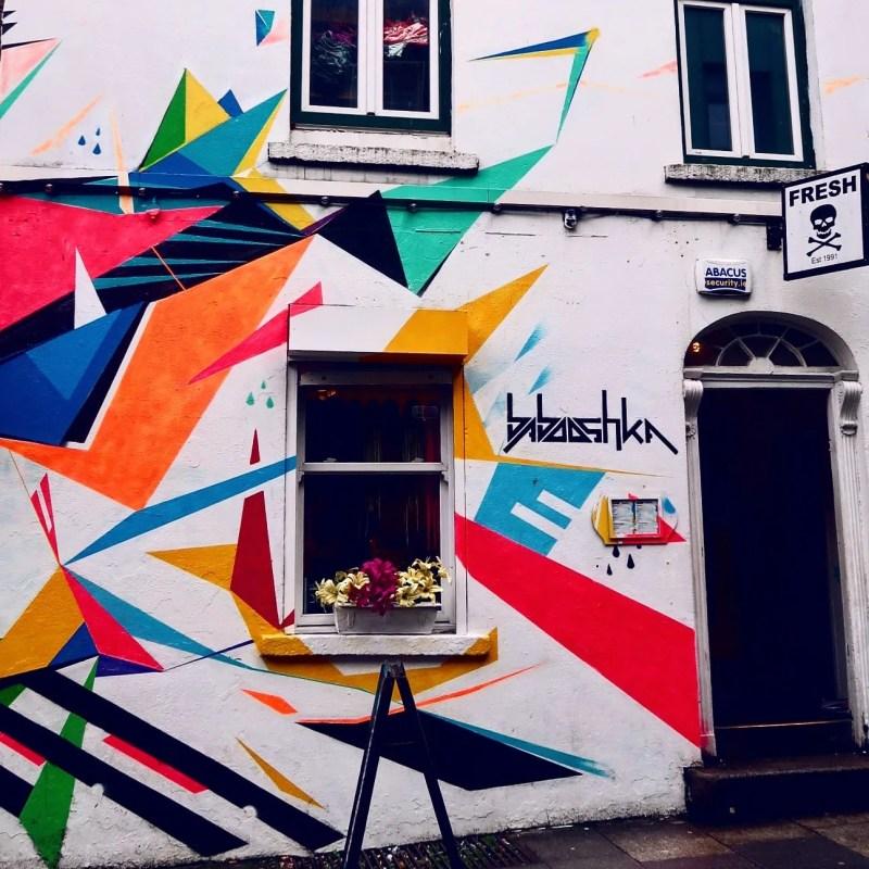 Dublin street art @minkaguides Babooshka