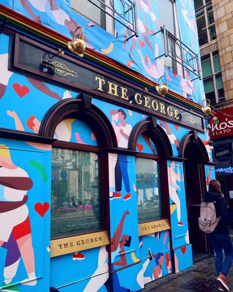 Dublin street art @minkaguides George Bar
