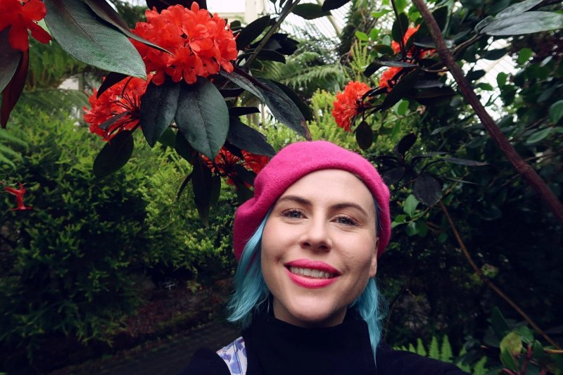 National Botanic Gardens Dublin @minkaguides selfie