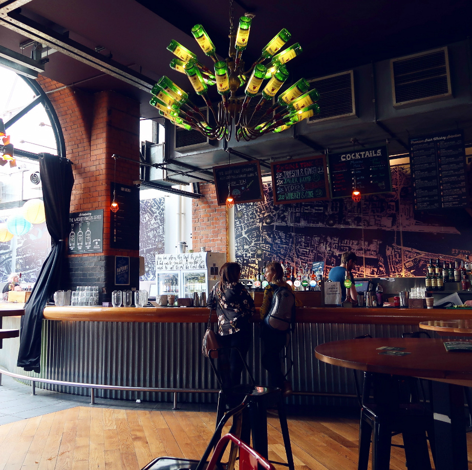 Review Generator Hostel Dublin @minkaguides Bar FEATURED