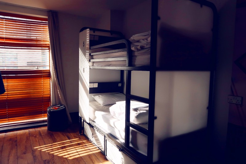Review Generator Hostel Dublin @minkaguides Female dorm room