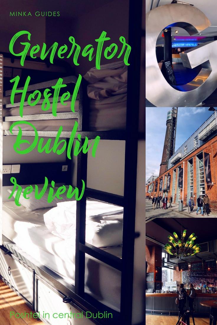 Review Generator Hostel Dublin @minkaguides