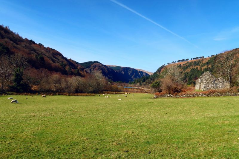 Wicklow Mountains day trip from Dublin @minkaguides Monastary 3