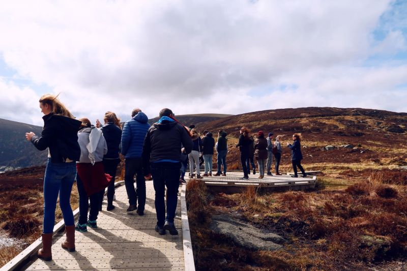 Wicklow Mountains day trip from Dublin @minkaguides Wicklow Gap