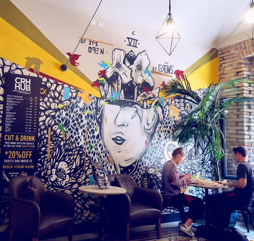 Review The Yellow Hostel Rome @minkaguides FEATURED