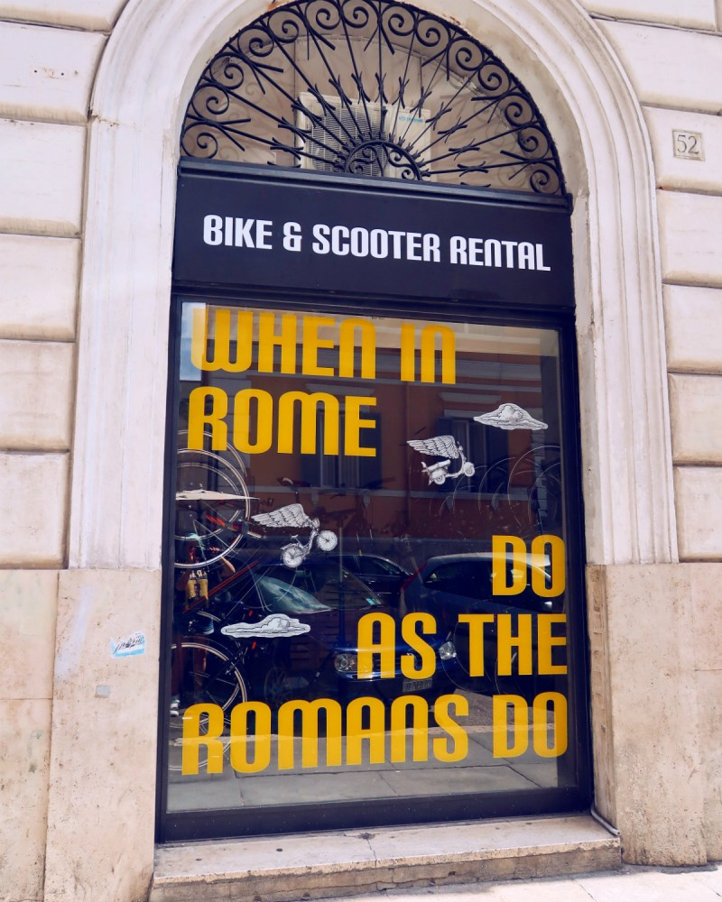 Review The Yellow Hostel Rome @minkaguides bike hire