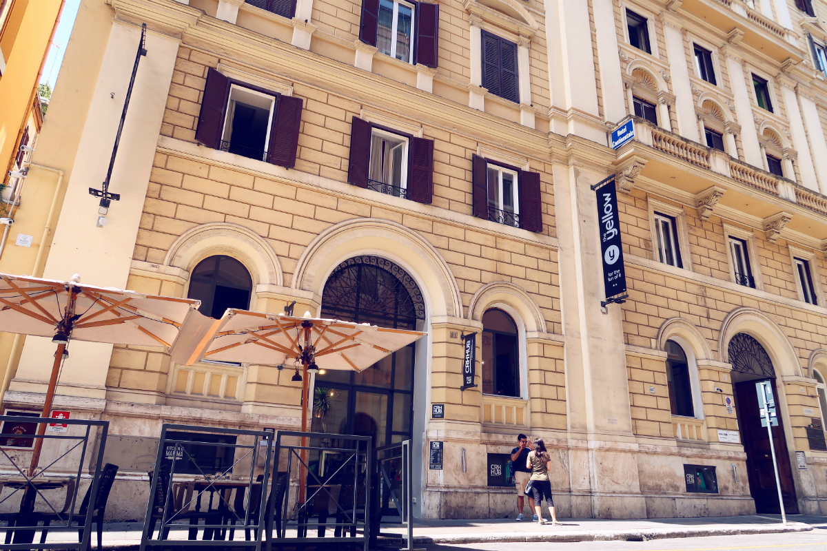 Review The Yellow Hostel Rome @minkaguides exterior