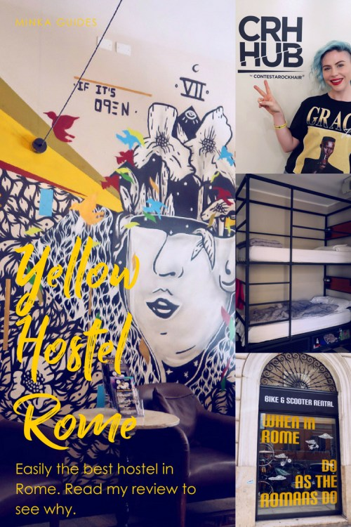 Review Yellow Hostel Rome @minkaguides