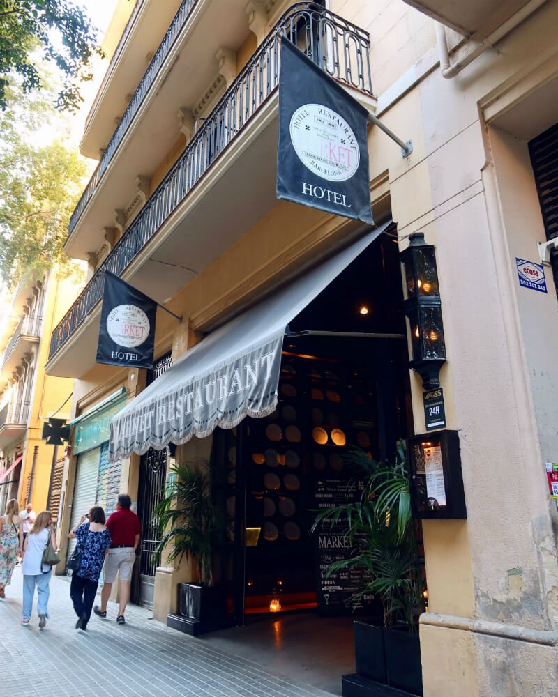 entrance Market Hotel Barcelona CREDIT Minka Guides