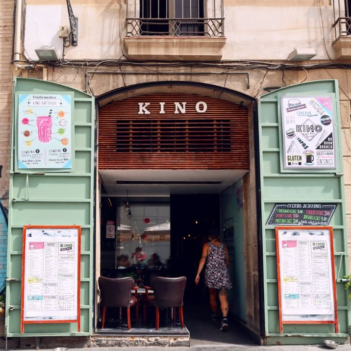 Gluten-free Barcelona Kino-Cafe CREDIT Minka Guides