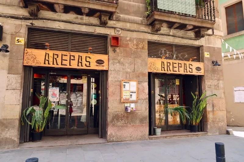 Gluten-free Barcelona La-Taguara-Areperia CREDIT Minka Guides