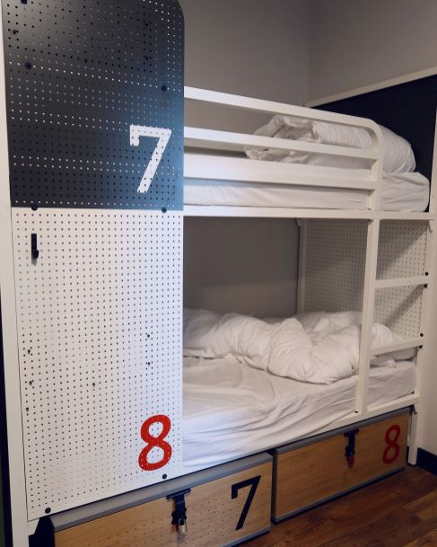 Generator Hostel Madrid @minkaguides female dorm bunks