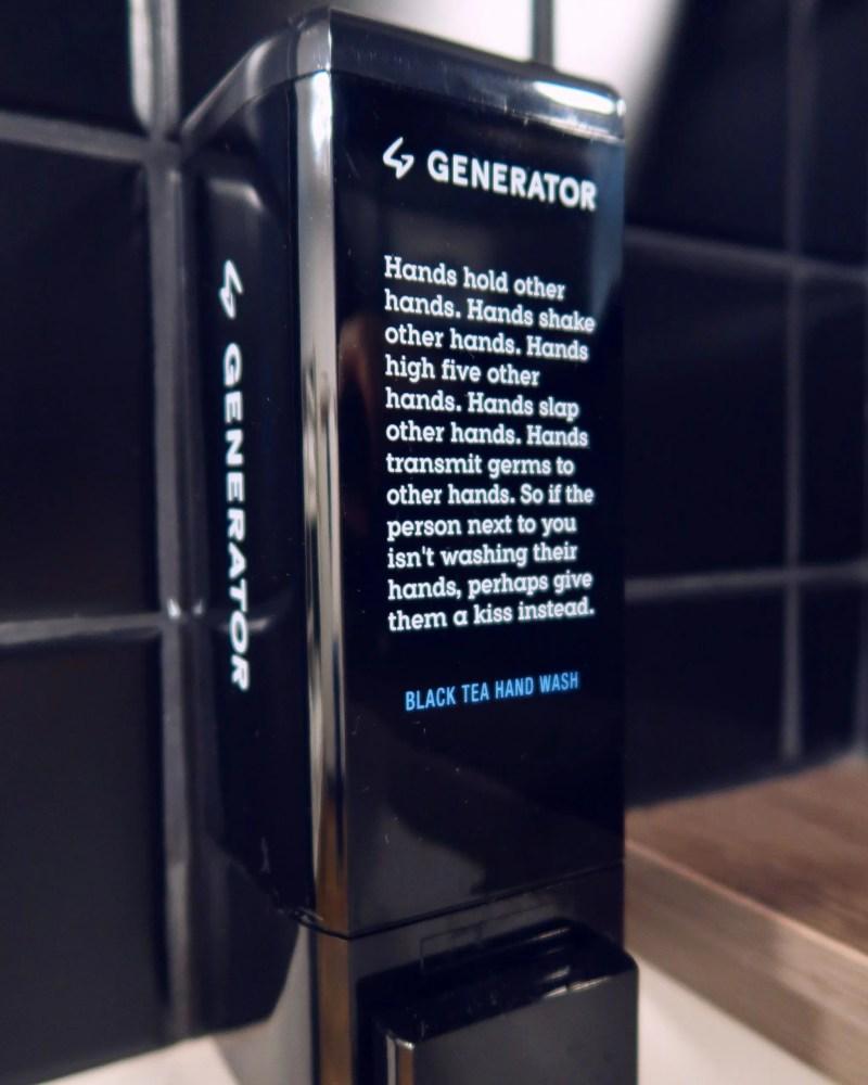 Generator Hostel Madrid @minkaguides handwash